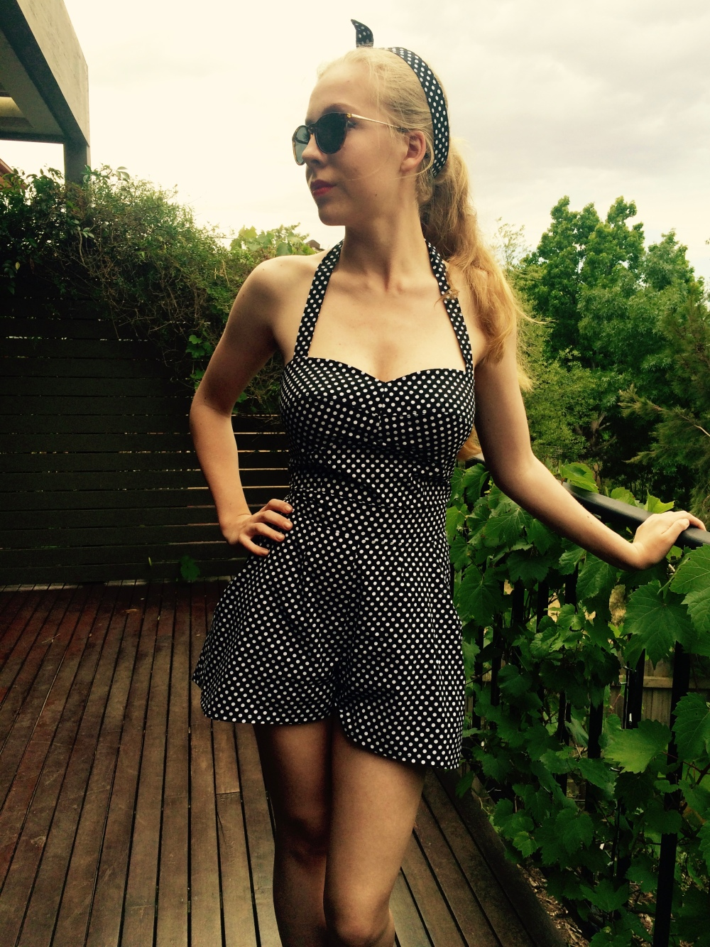 Polkadot Playsuit